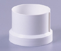 Floor Waste | Leak Control Flange Adaptor | 100mm | PVC | White | Code: TWL-101