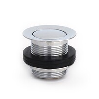 Bath Waste | 40mm Pull Out Pop Up Bath Plug & Waste - Standard - Chrome - Code: TW-16C