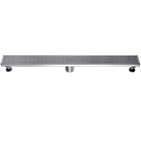 Linear Wastes | Stainless Steel Floor Grate | 813 x 80 x 50mm | Centre Waste - Code: TLG-0803