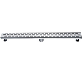 Linear Wastes | Stainless Steel Floor Grate | 813 x 80 x 50mm | Centre Waste - Code: TLG-0801