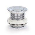 Basin Waste | 40mm Pull Out Pop Up Basin Plug & Waste - Chrome - Code: TW-01C