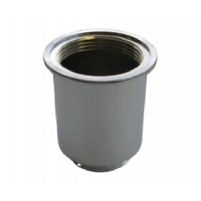 Bottle Trap Accessory | 40 x 32mm Brass Cylindrical Back Nut | Chrome | Code: BSD-031